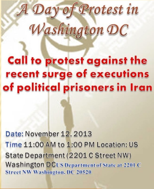 protest _political_prisoners_Iran