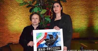 خانم مائده قادرى وكيل كرد ايرانى  و دريافت جايزه حقوق بشرى