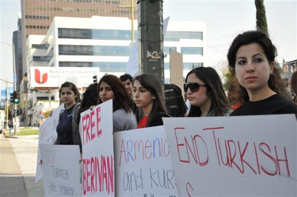 Protest At Turkish Consulate Exposes Ankara's Inhumanity to Children