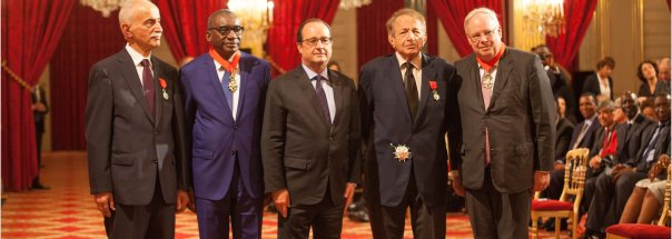 FIDH Presidents promoted in National Order of the Legion of Honour by François Hollande